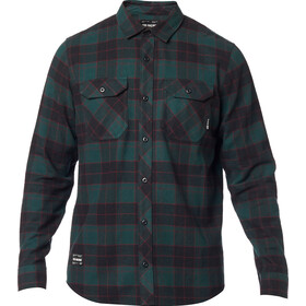Fox Traildust 2.0 LS Flannel Shirt Men, emerald